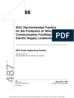 IEEE RECOMMENDED PRACTICE FOR THE PROTECTION OF WIRE LINE COMMUNICATION