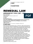 Bar Qs Answers 1990 2006 Remedial