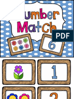 Number Match Game 110
