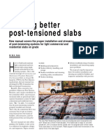 Building Better Post-Tensioned Slabs