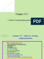 Software Testing Implementation