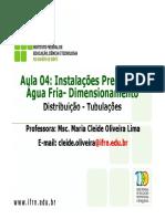 Aula 4 Dimensionamento AF - Tubulacoes.pdf