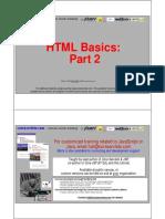 HTML Basics 2