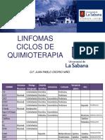 Consideraciones FarmacÚuticas en Linfomas