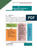 e. Pendekatan, Metodologi Dan Program Kerja