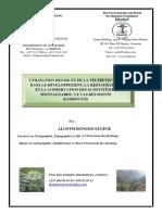 Carte Des Monts Bamboutos Par Alontsi Dongmo Geomaticien