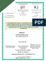 Cartographie de l'Approvisionnement en Eau Du Departement Du Haut Nkam Par Alontsi Dongmo Cartographe Expert Geomaticien