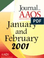 JAAOS - Volume 09 - Issue 01 January & February 2001