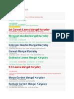 Mangal Karyalay