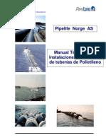 Manua Tecnico Para Instalaciones Sub Marinas de Tuberias de Polietileno