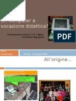Un computer a vocazione didattica - di Marco Guastavigna