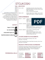 viktoria stojkoski resume 2018