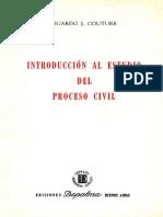Introducción Al Estudio Del Proceso Civil Eduardo j. Couture