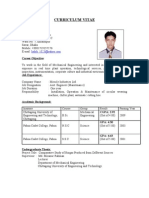 Resume of Ahsan