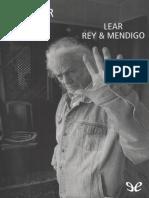 Lear Rey & Mendigo - Shakespeare
