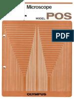 Instruction Manual Olympus Polarizing Microscope