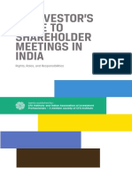 An Investor guide to shareholder meetings in India