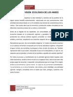 Cosmovision Ecologica Agricola en Los Andes