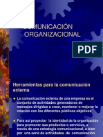 Canales de comunicaciòn externos e internos- Unidad III