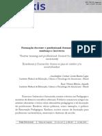 Livro 01 - Formação Docente e Profissional- Formar-se Para a Mudança e Incerteza