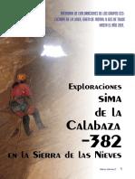 Sima Calabaza, Sierra de las Nieves (AS29)