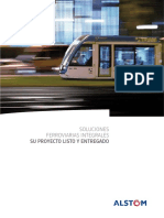 Brochure - Turnkey Rail Solutions - Spanish