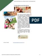 Curso Psicología para Educadores