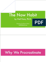The Now Habit Cheat Sheet
