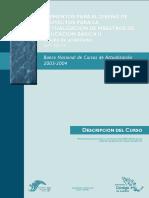 DESCRIPCION DEL CURSO Elementos Para El Diseño de Proyectos Para La Actualización de Maestros de Educación Básica II
