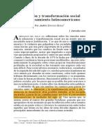 DONOSO_Educación y transformación social en el pensamiento latinoamericano.pdf