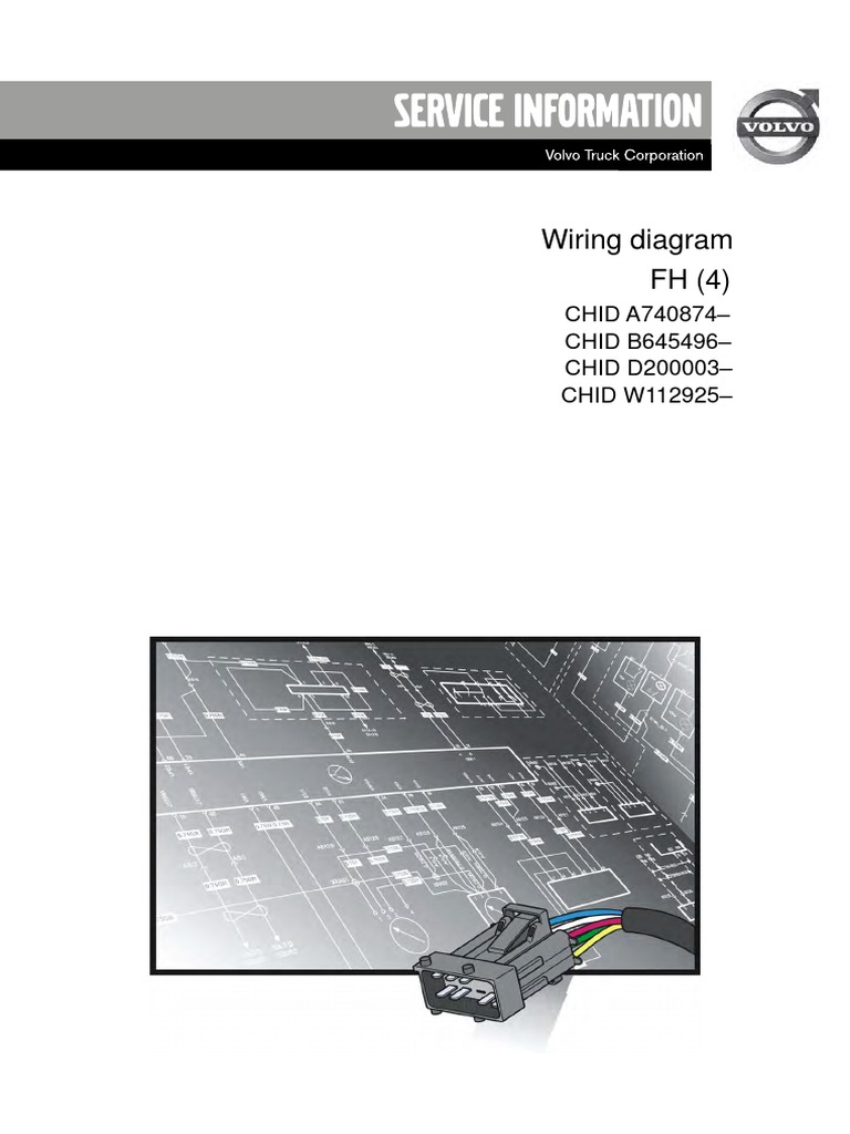 89141432-Wiring Diagram FH(4) | Vehicles | Manufactured Goods on