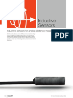 Inductive Sensors for Analog Distance Measurement