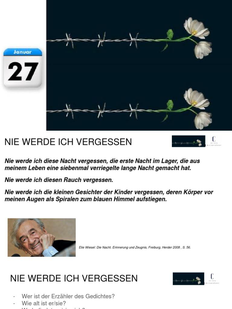 27.Januar Tag Des Gedenkens an Die Opfer Des Ns