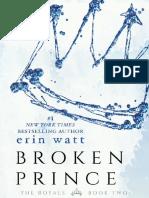 Broken Prince 2 - Erin Watt