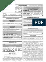 Decreto Supremo N° 016-2017-PCM - Modelo de Datos Abiertos Gubernamentales del Peru