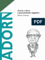 Adorno - Mario Farina