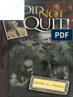 I Did Not Quit! - Lester Sumrall