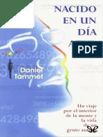 Nacido en Un Dia Azul - Daniel Tammet