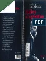 Durkheim, Hobbes a l'Agrégation