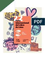 Catálogo de la FIL LIMA 2017