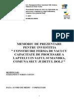 60663_Memoriu_Ferma Vaci_STEFANESCU SORIN COSTIN.doc