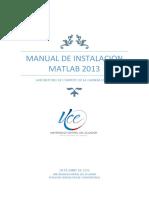 Manual de Instalacion Matlab