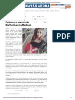 Crimen Pasional Detienen Al Asesino de Mar - Noticias de Yucatan, Yucatan Ahora