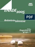 ExameNacional DesempenhoEstudantes ENADE Engenharia Metalurgica 2005 RelatorioSintese