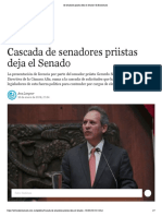 30-01-18 Cascada de Senadores Priistas Deja El Senado _ El Economista