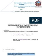 Costos y Beneficios Ambientales de Un Proyecto Minero[1]