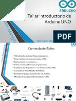 Taller de Arduino UNO