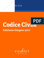 Codice Civile Aggiornato a Giugno 2017