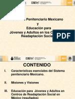 Centros de Readaptacion Social en Mexico