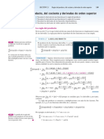 31 Reglas de La Derivada Producto Cociente Orden Sup Larson 139-145